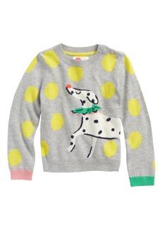 Mini Boden Fun Intarsia Sweater (Toddler Girls, Little Girls & Big Girls)