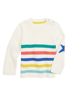 Mini Boden Fun Knit Sweater (Baby Boys)
