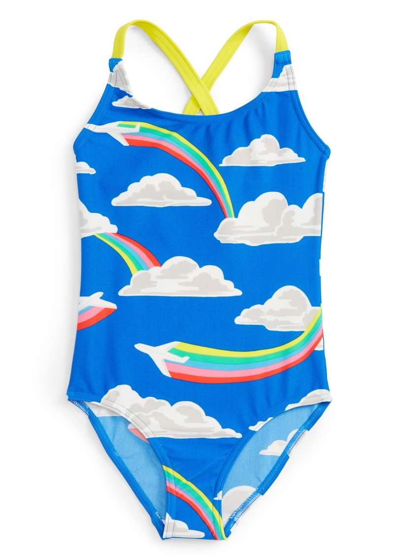 e418aed0a1779 Mini Boden Fun One-Piece Swimsuit (Toddler Girls, Little Girls & Big Girls