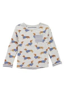 Mini Boden Fun Reversible Print T-Shirt (Baby Boys)