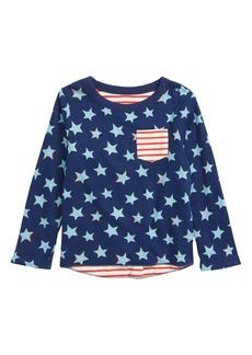 Mini Boden Fun Reversible T-Shirt (Baby Boys)