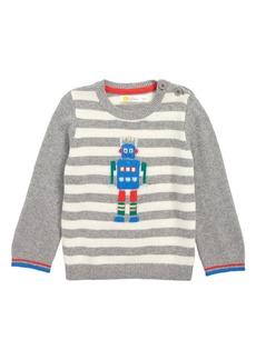 Mini Boden Fun Striped Sweater (Baby & Toddler)