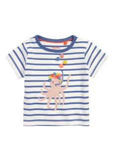 Mini Boden Fun Summer Appliqué Tee (Baby Girls & Toddler Girls)