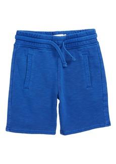 Mini Boden Garment Dyed Sweatshorts (Toddler Boys, Little Boys & Big Boys)