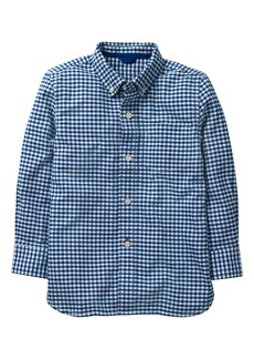 Mini Boden Gingham Oxford Shirt (Toddler Boys, Little Boys & Big Boys)
