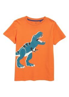 Mini Boden Glow in the Dark T-Rex T-Shirt (Toddler Boys, Little Boys & Big Boys)