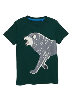 Mini Boden Glow in the Dark Wolf T-Shirt (Toddler Boys, Little Boys & Big Boys)