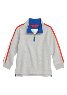 Mini Boden Half Zip Pullover (Toddler Boys, Little Boys & Big Boys)