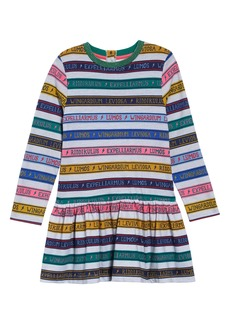 Mini Boden Harry Potter Charms Class Stripe Dress (Toddler Girls, Little Girls & Big Girls)