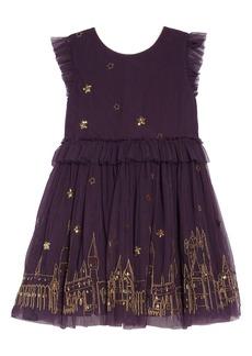 Mini Boden Harry Potter Enchanted Hogwarts Tulle Dress (Toddler Girls, Little Girls & Big GIrls)