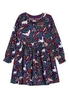 Mini Boden Harry Potter Forbidden Forest Dress (Toddler Girls, Little Girls & Big Girls)