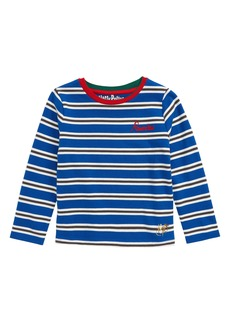 Mini Boden Harry Potter Hogwarts House Breton Stripe T-Shirt (Toddler Girls, Little Girls & Big Girls)