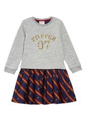 Mini Boden Harry Potter Sequin Seeker Dress (Toddler Girls, Little Girls & Big Girls)