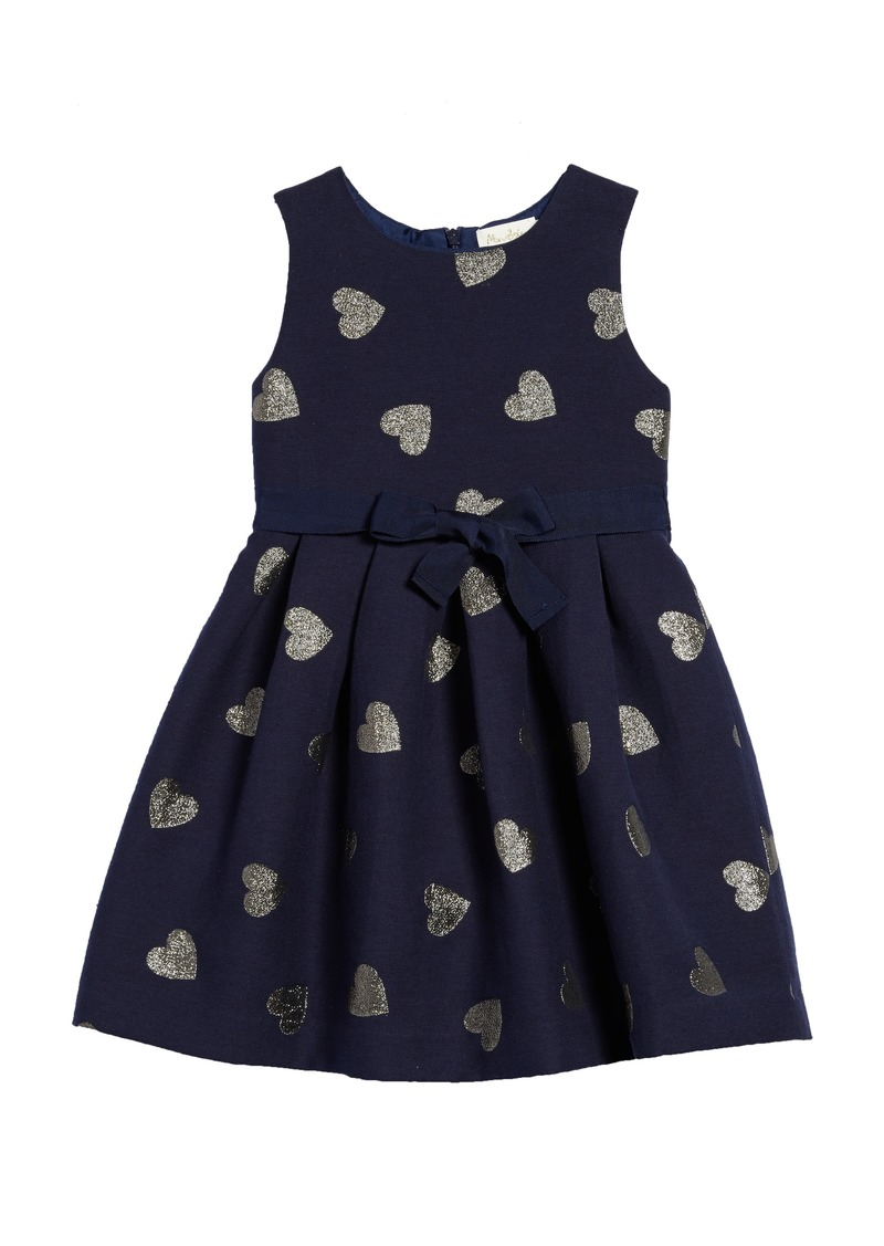Mini boden mini boden heart jacquard dress toddler girls for Mini boden sale deutschland