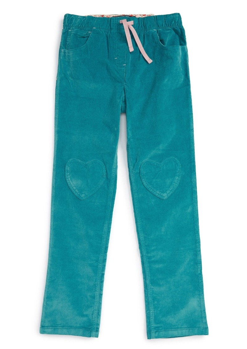 Mini Boden Heart Patch Pants (Toddler Girls, Little Girls & Big Girls)