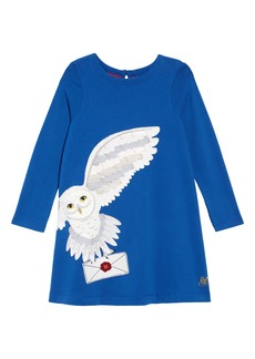 Mini Boden Hedwig Post Dress (Toddler Girls, Little Girls & Big Girls)