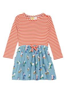 Mini Boden Hopscotch Dress (Toddler Girls, Little Girls & Big Girls)