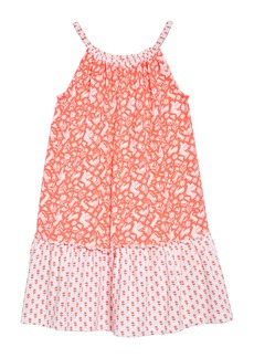 Mini Boden Hopscotch Halter Dress (Toddler Girls, Little Girls & Big Girls)