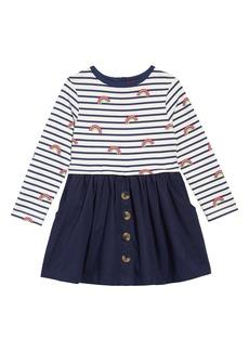 Mini Boden Hotchpotch Dress (Toddler Girls, Little Girls & Big Girls)