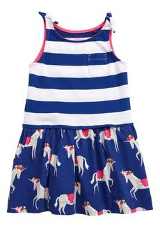 Mini Boden Hotchpotch Jersey Dress (Toddler Girls, Little Girls & Big Girls)