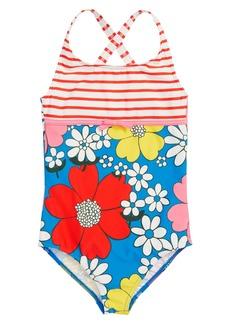 Mini Boden Hotchpotch One-Piece Swimsuit (Toddler Girls, Little Girls & Big Girls)