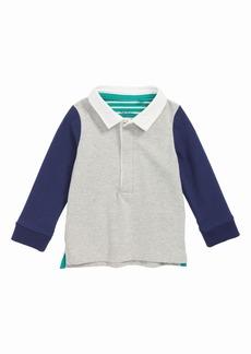 Mini Boden Hotchpotch Polo T-Shirt (Baby Boys)