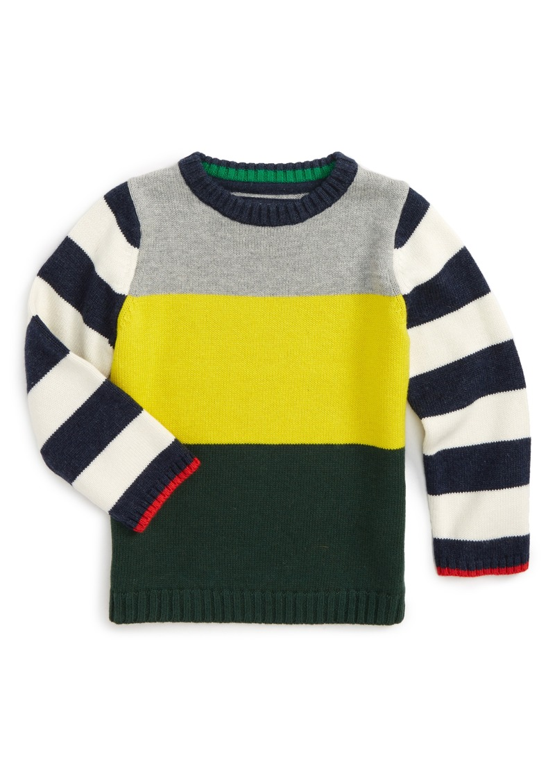 Mini boden mini boden hotchpotch sweater toddler boys for Mini boden sale deutschland