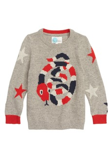 Mini Boden Intarsia Snake Sweater (Toddler Boys, Little Boys & Big Boys)