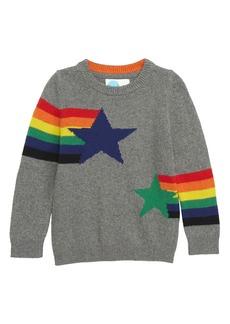 Mini Boden Intarsia Star Sweater (Toddler Boys, Little Boys & Big Boys)