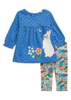 Mini Boden Jersey Dress Set (Baby)