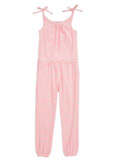 Mini Boden Jersey Jumpsuit (Little Girls & Big Girls)