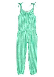 Mini Boden Jersey Jumpsuit (Little Girls)