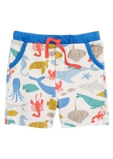 Mini Boden Jersey Shorts (Baby Boys & Toddler Boys)