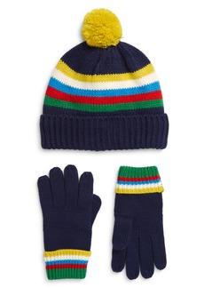 Mini Boden Kids' Beanie & Gloves Set (Toddler, Little Boy & Big Boy)