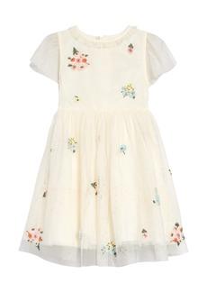 Mini Boden Kids' Embellished Tulle Dress (Toddler, Little Girl & Big Girl)
