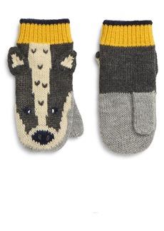 Mini Boden Kids' Knit Mittens (Toddler, Little Boy & Big Boy)