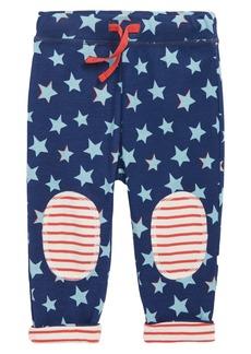 Mini Boden Knee Patch Reversible Pants (Baby Boys)