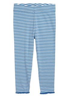Mini Boden Lace Hem Leggings (Toddler Girls)
