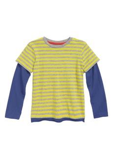 Mini Boden Layered T-Shirt (Toddler Boys, Little Boys & Big Boys)