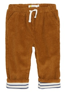 Mini Boden Lined Corduroy Trousers (Baby Boys)
