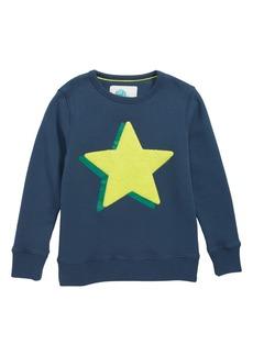Mini Boden Logo Sweatshirt (Little Boys & Big Boys)