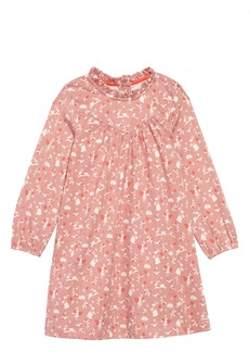 Mini Boden Long Sleeve Jersey Dress (Toddler Girls)