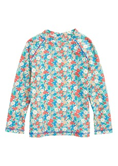 Mini Boden Long Sleeve Rashguard (Toddler Girls, Little Girls & Big Girls)