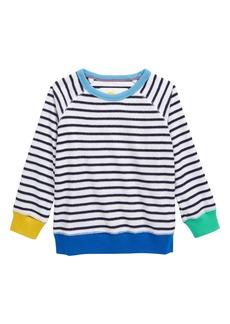 Mini Boden Long Sleeve Towelling Shirt (Toddler, Little Boy & Big Boy)