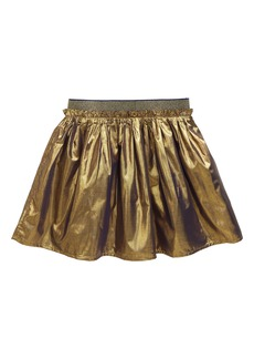Mini Boden Metallic Party Skirt (Toddler Girls, Little Girls & Big Girls)