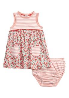 Mini Boden Mixed Print Jersey Dress (Baby & Toddler Girls)