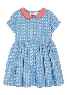 Mini Boden Nostalgic Collared Dress (Toddler Girls, Little Girls & Big Girls)