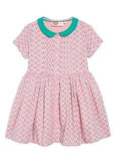Mini Boden Nostalgic Collared Dress (Toddler Girls, Little Girls & Big Girls)