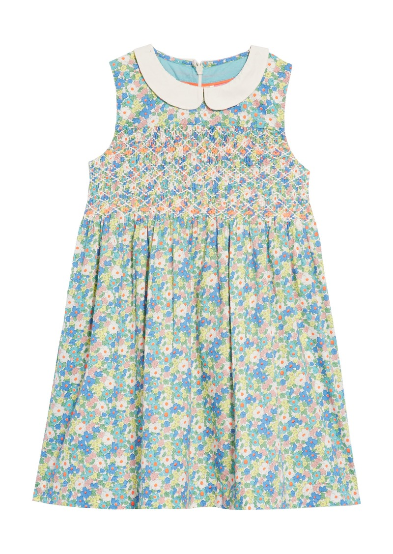 22a1454f5 Mini Boden Nostalgic Smocked Dress (Toddler Girls, Little Girls & Big Girls)