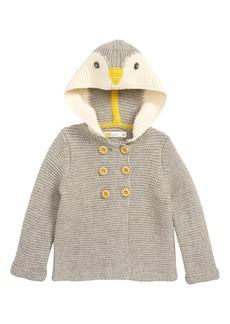 Mini Boden Novelty Knit Hooded Jacket (Baby & Toddler Boys)